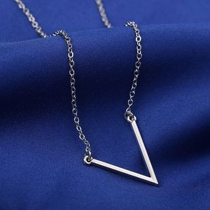 Jewelry - Simple Dainty V Necklace